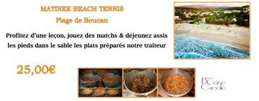 Matinée Beach Tennis